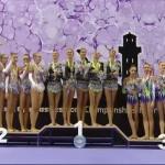 Браво! Българският ансамбъл по художествена гимнастика стана световен шампион!